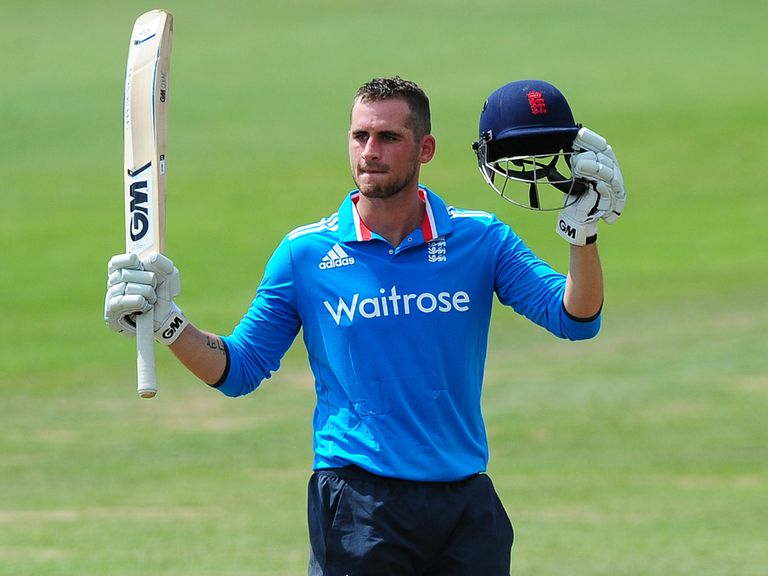 Alex Hales has been called up into England's one-day squad