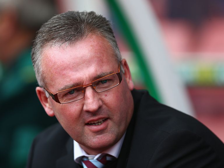 Paul Lambert: Appreciates the backing given by Randy Lerner