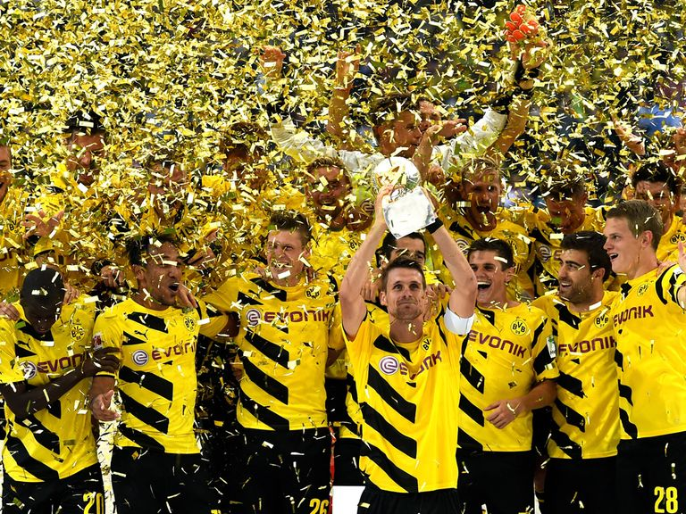 Borussia Dortmund lift the German Supercup