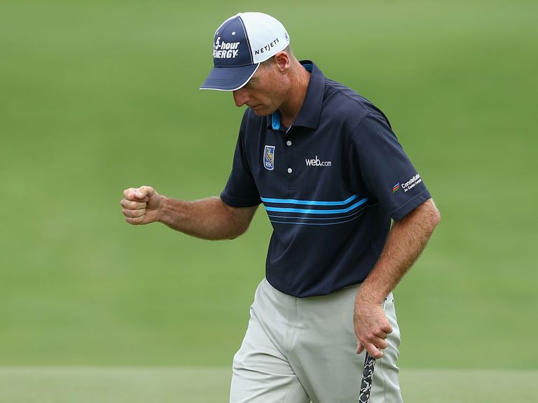 Jim Furyk can follow-up his round one threeball victory