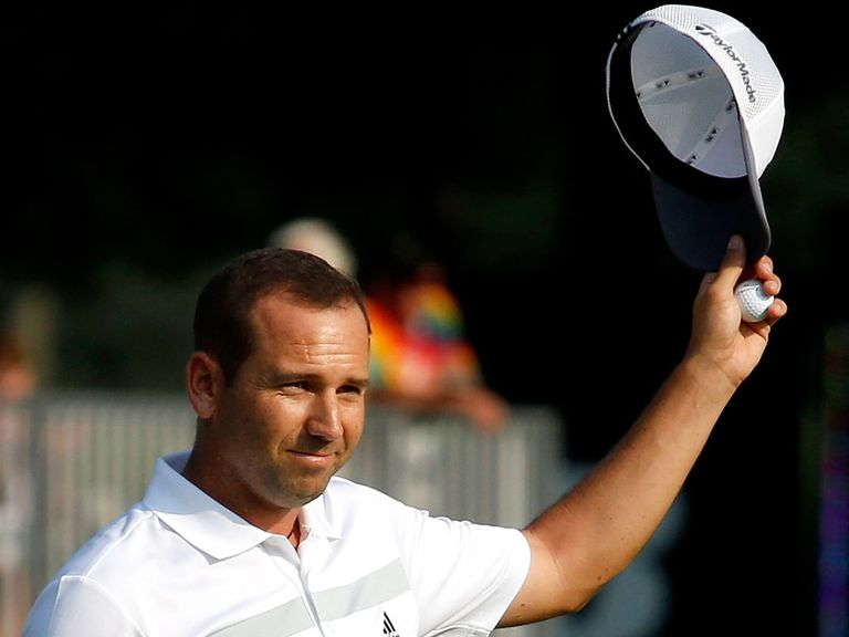 Sergio Garcia: Ended round with seven straight birdies