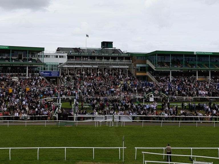 General views of Newcastle racecourse