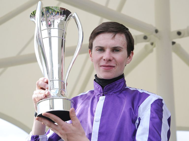 Joseph O'Brien: Returned to race-riding on the level