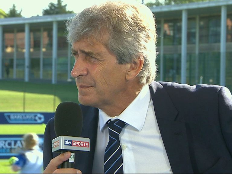 Manuel Pellegrini: Looking forward to the start of the campaign