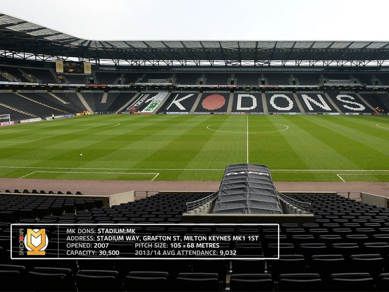 The MK Dons stadium is expected to be packed to the rafters on Tuesday