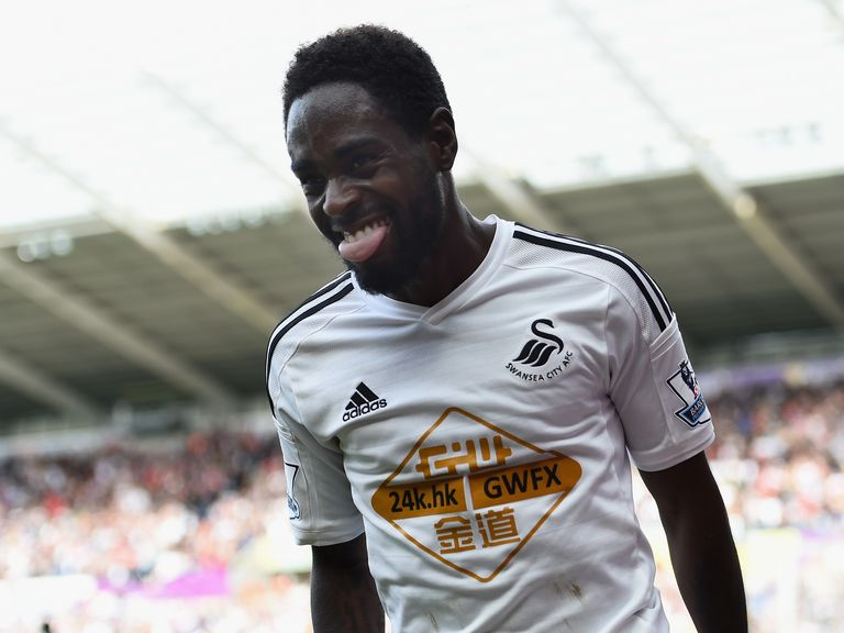Nathan Dyer: Enjoying playing for Swansea