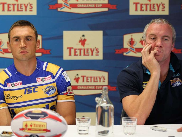 Leeds Rhinos skipper Kevin Sinfield backs Brian McDermott's decision