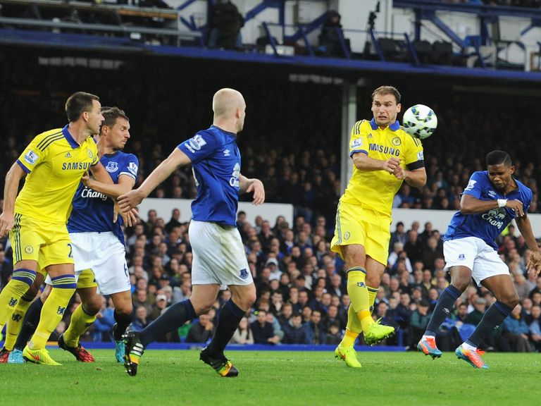 Samuel Eto'o: Scored on his debut for Everton