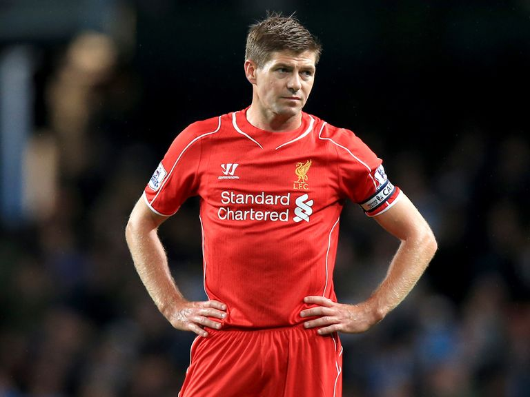 Steven Gerrard is ready to get back in the Champions League