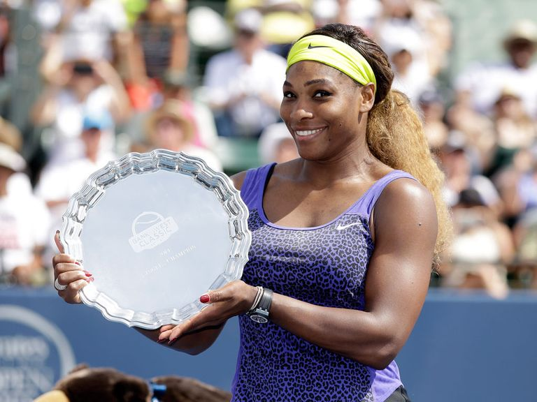 Serena came out on top in the final