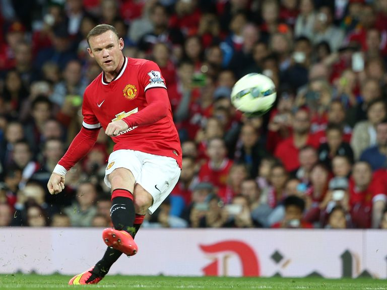 Wayne Rooney: Relishing prospect of leading Manchester United