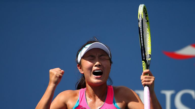 Peng Shuai: Through to the semi-finals of the US Open