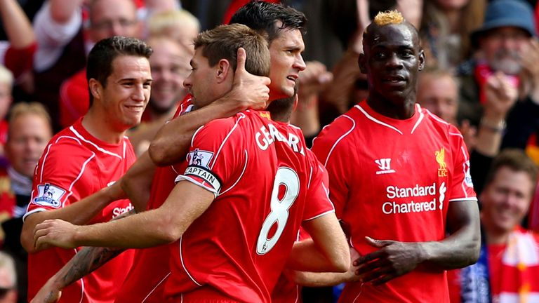 Gerrard: Gave Liverpool the lead