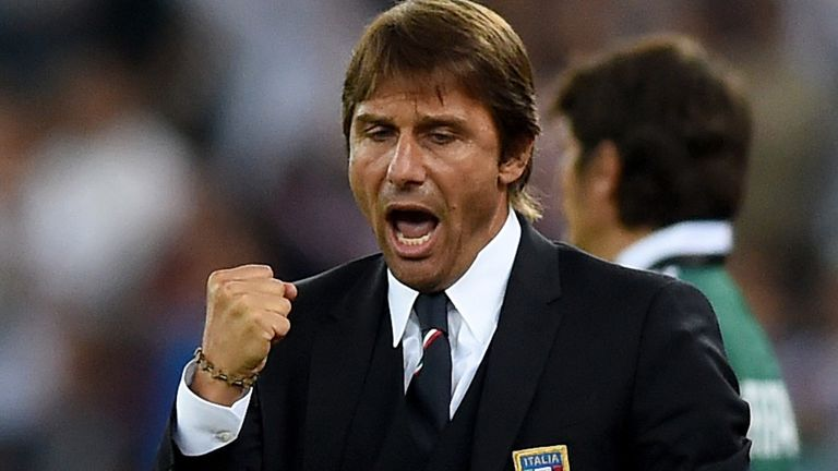 Conte: First match in charge