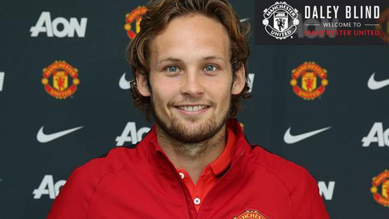 Daley Blind: Happy to have made 'dream move' to Manchester United