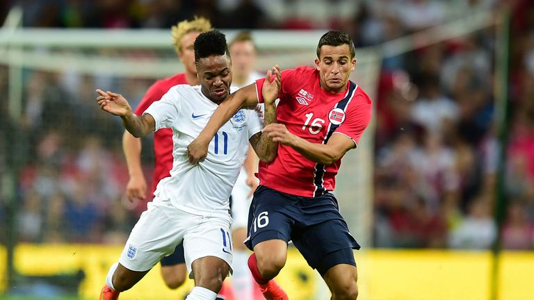 Star: Raheem Sterling impressed against Norway