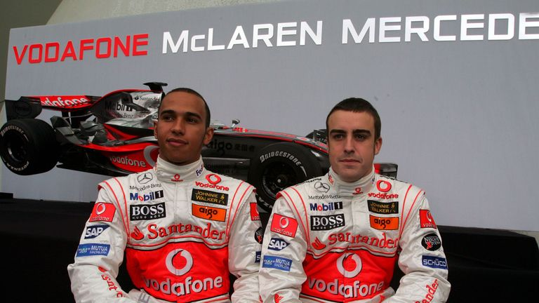 Ron Dennis says Lewis Hamilton had 'his role to play' in McLaren's