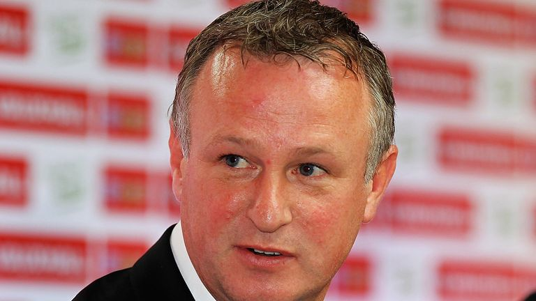 Michael O'Neill, manager of Northern Ireland is looking forward to European qualifiers.