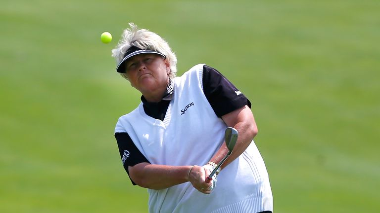 Laura Davies: Hoping to become the oldest winner on the Women's European Tour