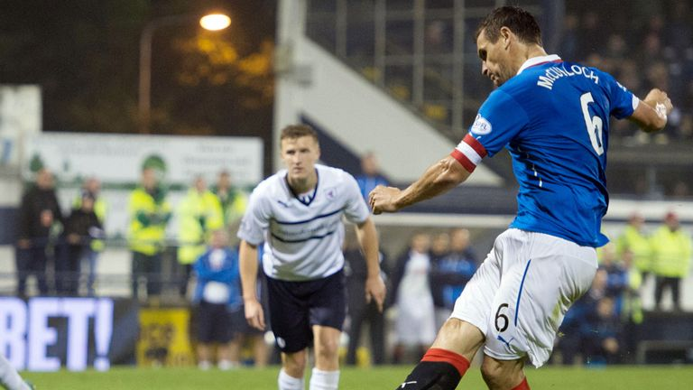 Lee McCulloch slots home from the spot to seal victory over Raith
