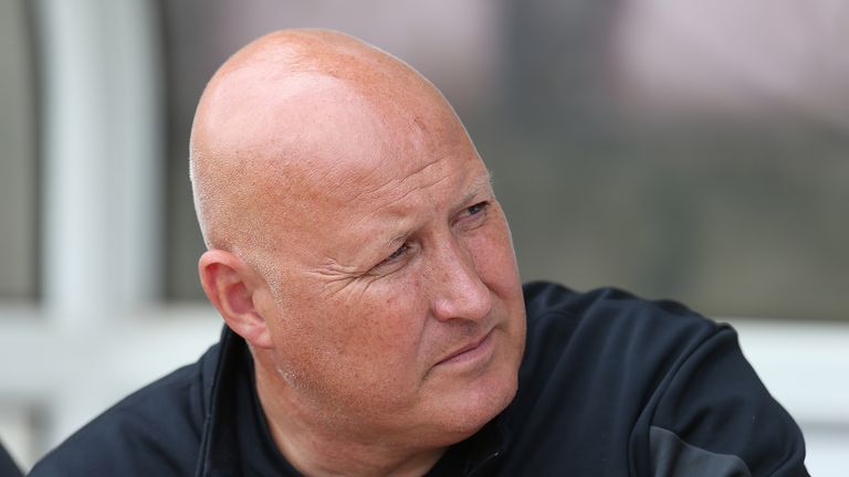 Russell Slade: Set to take job at Cardiff