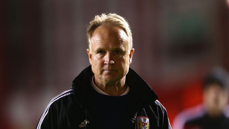 Sean O'Driscoll: New England U19 coach