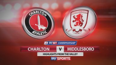 Charlton 0-0 Middlesbrough