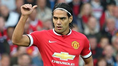Radamel Falcao: Determined to take his Old Trafford opportunity