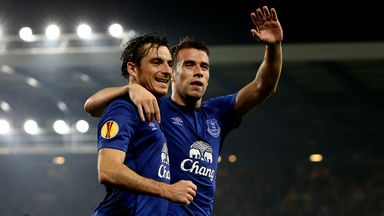 Leighton Baines is eager for glory in the Europa League this season