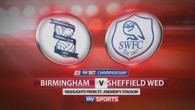 Birmingham 0-2 Sheff Wed