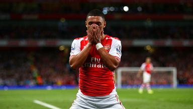 Alex Oxlade-Chamberlain: Looking forward to taking on Chelsea on Sunday