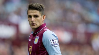 Ashley Westwood: Backed for an England call by Aston Villa boss Paul Lambert