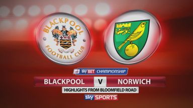 Blackpool 1-3 Norwich