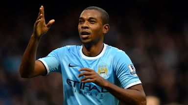 Fernandinho: Manchester City midfielder has experience of playing in front of no fans