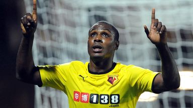 Odion Ighalo: On target for Watford