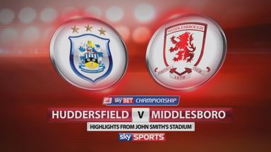 Huddersfield 1-2 Middlesbrough