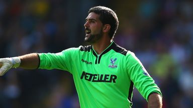 Julian Speroni: Crystal Palace goalkeeper happy to work with Neil Warnock again