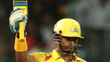 Suresh Raina played a majestic innings for Chennai
