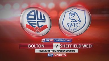 Bolton 0-0 Sheff Wed