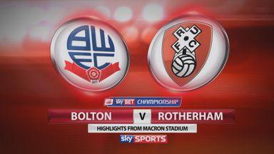 Bolton 3-2 Rotherham