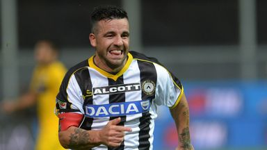 Antonio Di Natale: Scored the opening goal for Udinese