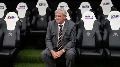 Steve Bruce: Hull City boss in the dugout at St James