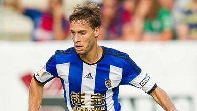 Sergio Canales: Real Sociedad midfielder a target for Aston Villa