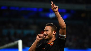 Francesco Totti: The oldest-ever goalscorer in the Champions League