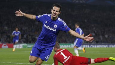 Cesc Fabregas: Made a big impact since switching to Stamford Bridge in the summer