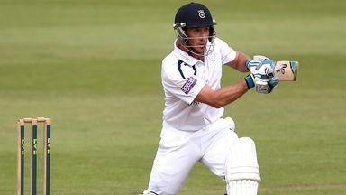 Will Smith: Struck as unbeaten 142 for Hampshire to earn draw
