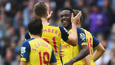 Danny Welbeck: Scored his first goal for Arsenal in 3-0 win at Aston Villa