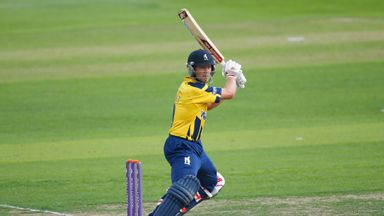 Jonathan Trott: Scored a century when the sides met in Group B earlier in the summer