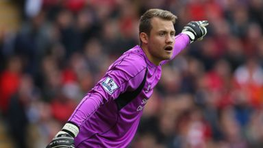 Simon Mignolet: Received much criticism so far this season