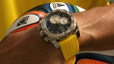Parmigiani watch: Handed out during the World Cup in Brazil